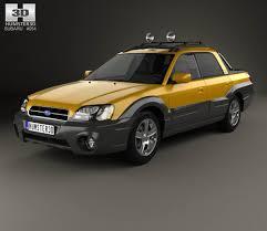 baja subaru subaru baja 2002 3d model hum3d