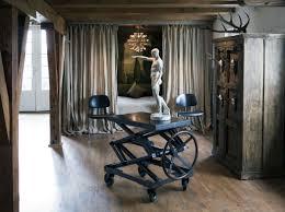 apartments interior inside gerard butler u0027s rustic new york loft