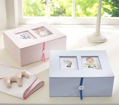 keepsake baby gift baby keepsake boxes pottery barn kids