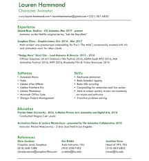 3d animator sample resume flight service manager sample resume