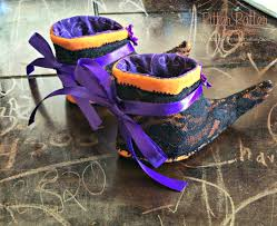 witches night out baby witch booties baby u0027s 1st halloween