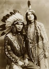 traditional cherokee hair styles native north american couple situwuka and katkwachsnea 1912 they