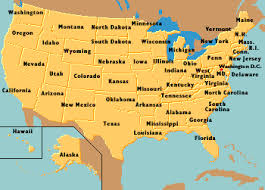 usa map just states encyberpedia home pages of the united states