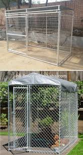 china designer10x10x6 dog kennels with low factory price cheap