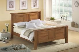 bed street solid oak wooden kingsize bed frame guest bedroom