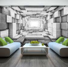 3d mural photo wallpaper wooden 3d effect abstract tunnel wall mural