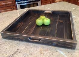 Wooden Ottomans Adorable Large Ottoman Tray Large Ottomans Large Tray