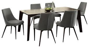 Grey Fabric Dining Room Chairs Of Good Grey Fabric Dining Room - Grey fabric dining room chairs