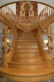 staircase builder of elegant wooden staircases