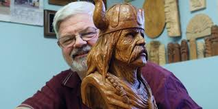 wood carvers working with wood a big part of welland s