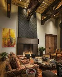 beautiful living rooms with fireplaces of all types and rustic