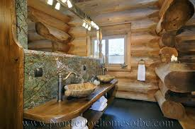 log home bathroom ideas bedrooms and bathrooms log home and cabin interiors pioneer