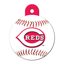 Cincinnati Reds Home Decor Quick Tag Cincinnati Reds Mlb Personalized Engraved Pet Id Tag