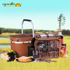 Wine Picnic Baskets Aliexpress Com Buy Apollo Dinnerware Set Picnic Basket