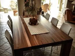 table de cuisine sur mesure table de cuisine en noyer massif meubles sur mesure yascha savoie