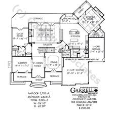 chateau house plans chateau lafayette country house plan interiors decor modern