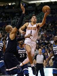 Make Up Classes In Phoenix Booker Warren Score 35 Apiece Suns Beat Timberwolves Daily