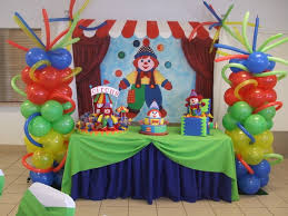 interior design new circus themed birthday party decorations