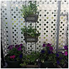 Garden Crafts For Adults - cd tower turned herb garden high rise hometalk