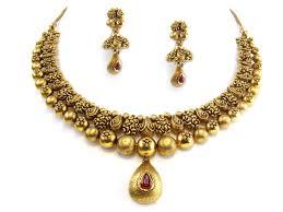 gold antique necklace sets images 73 05g 22kt gold antique necklace set houston texas usa jpg