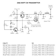 component schematic diagram of radio am circuit rf northstar