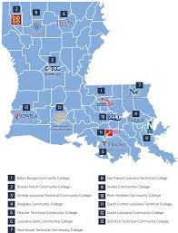 Louisiana State Map by Transfer Opportunities Lctcs