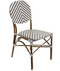 Grey Bistro Chairs Bistro Rattan Chairs Rattan With Outdoor Patio Aluminum Frames