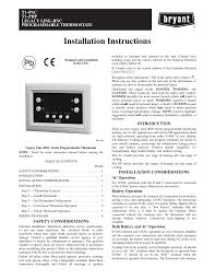 source 1 thermostat manual bryant t1 php user manual 8 pages also for t1 pac