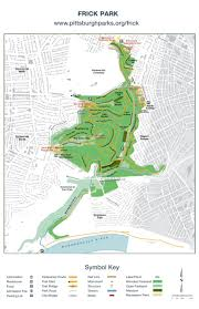 Isu Map Frick Park Trail Map By Pittsburgh Parks Conservancy Issuu