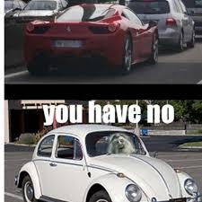 Car Girl Meme - driving a sports car in heavy traffic meme