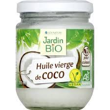 huile de coco en cuisine jardin bio huile vierge de coco monoprix fr