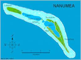 map of tuvalu nanumea atol map tuvalu mappery