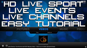 hd live sport on kodi 16 jarvis awesome streams easy tutorial