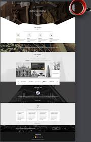 architecture layout design psd 40 best free landing page psd templates designmaz
