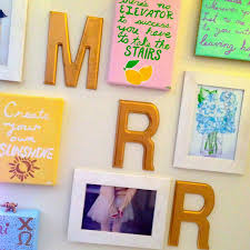 Kitchen Gallery Wall by Dorm Gallery Wall Bowtiful Life