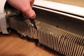 preventing black marks on the walls from your baseboard heaters