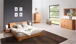 lit de chambre a coucher chambre a coucher chene massif moderne luxe lit bois design naturel