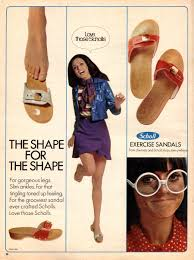 Dr Scholls Foot Mapping Dr Scholl U0027s Vintage 70 U0027s Ad For The Exercise Sandal Just What
