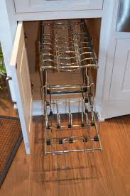 entrancing rectangle shape metal storage racks featuring stainless