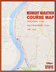 Map Cincinnati Cincinnati Half Marathon