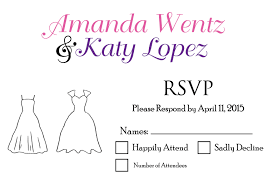 wedding invitations rsvp lgbt wedding invitations rsvp wedding dress invitations by r2