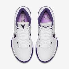 nike kobe ad baseline white purple 922482 100 sneakernews com