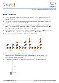 grade 5 sasmo printable worksheets online practice online tests