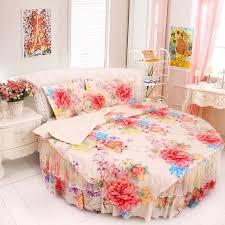King Size Duvet Cover Set Aliexpress Com Buy Round Bed Bedding Kit Super California King