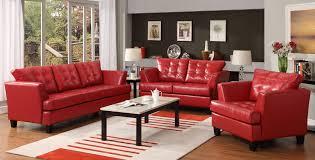 All Leather Sofas Homelegance Della All Bonded Leather Sofa Set U9994red