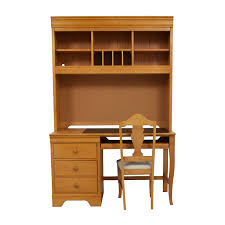 Office Furniture Desk Hutch 40 Stanley Furniture Stanley Furniture Custom Oak Wood Desk