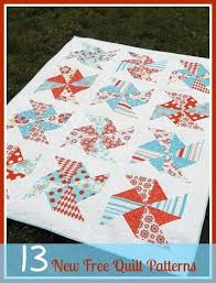 13 new free quilt patterns 8 easy quilt patterns allfreesewing
