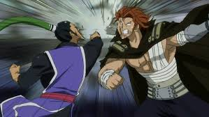 image gildarts bluenote hitting each other png fairy tail