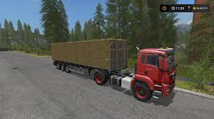 Seeking Trailer Fr Fliegl Flatbed Autoload 3 0 0 0 For Fs17 Farming Simulator 17