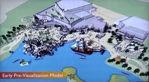 sketchup model of treasure cove shanghai disneyland disney